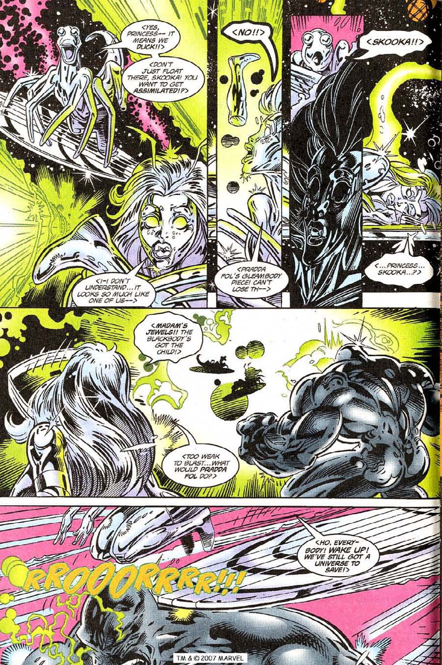 Silver Surfer (1987) Issue #118 #126 - English 6