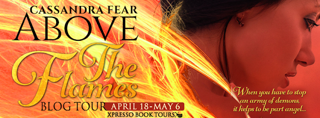 Blog Tour: Above The Flames by Cassandra Fear