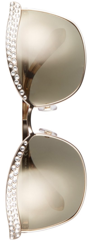 kate spade new york 'leandra' 62mm cat eye aviator sunglasses