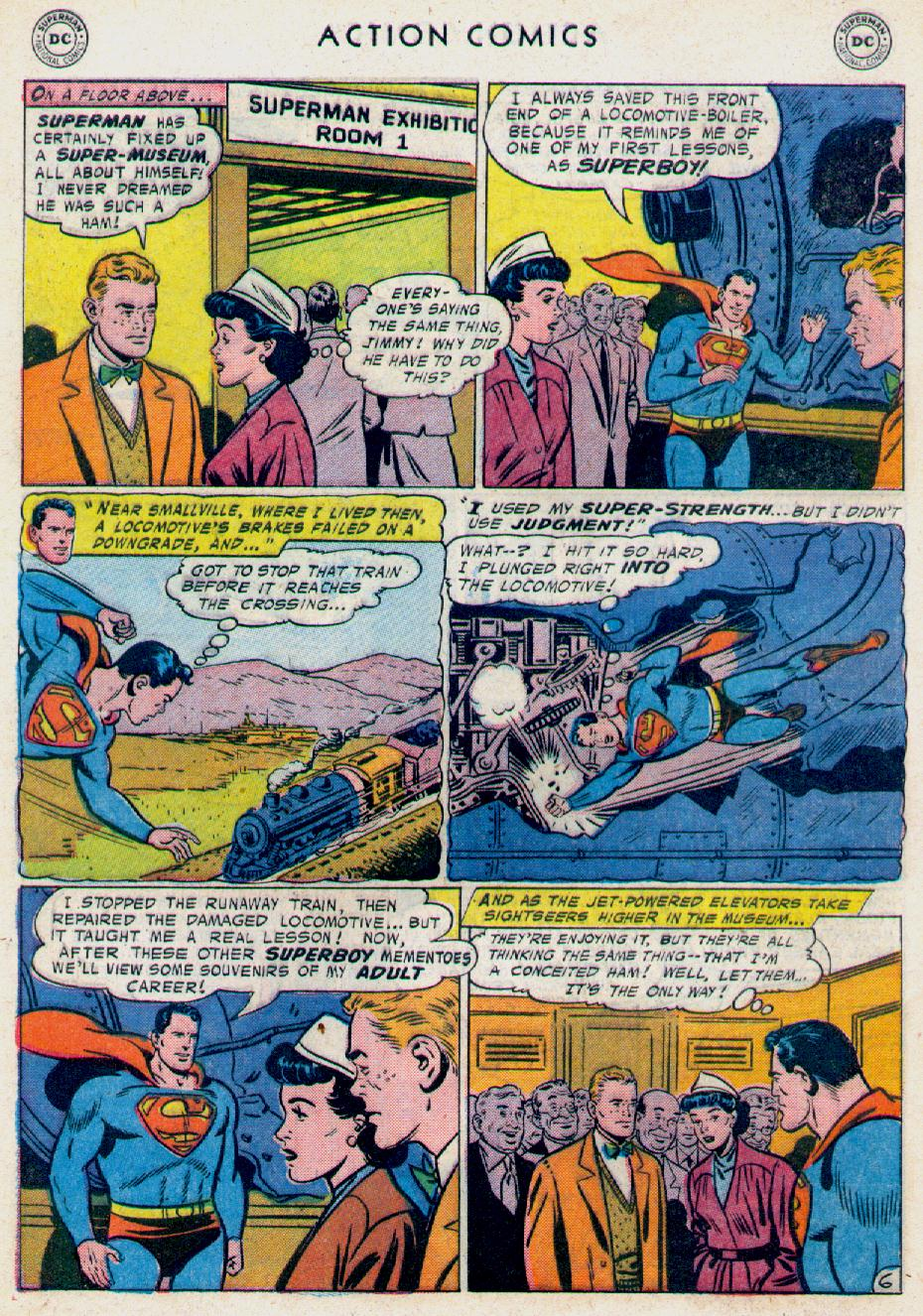Read online Action Comics (1938) comic -  Issue #228 - 8