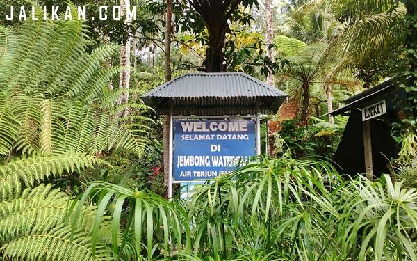 Single Touring Pendek ke Air Terjun Jembong di Ambengan