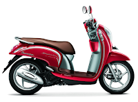Honda Scoopy eSP Stylish Merah