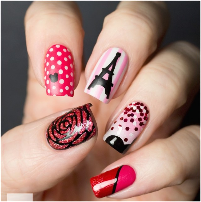 Paris Inspired Nail Art Ideas Fall In Love