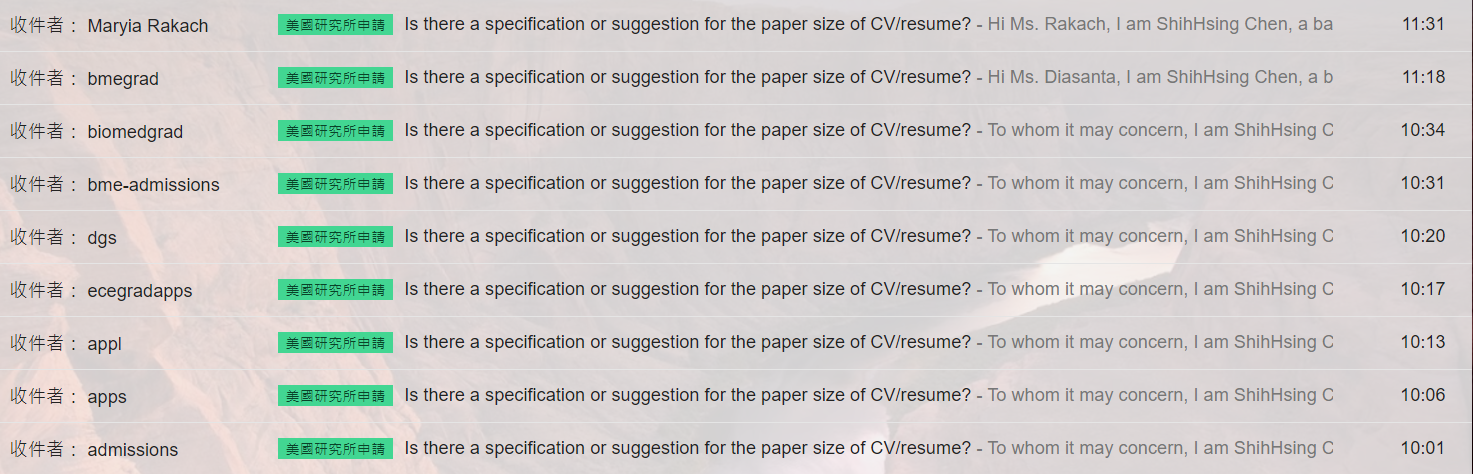 [UCLA] 如何依照歐美學術慣例撰寫Resume/CV?(11/08/2017更新)
