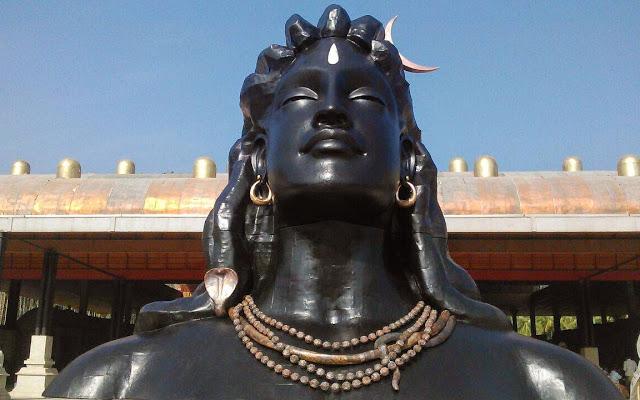 Lord Shiva Statue in Tamil Nadu