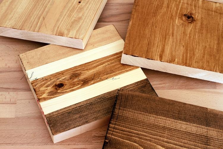 Tres productos para envejecer madera | Alquimia Deco