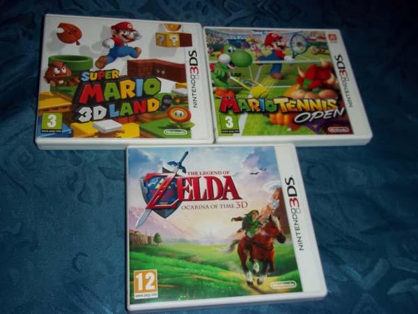 Cambio Juegos Nintendo 3ds Y Base De Carga Por Juegos Ps3 Nintendo