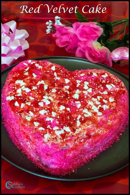 Eggless Red Velvet Cake Recipe With Beetroot