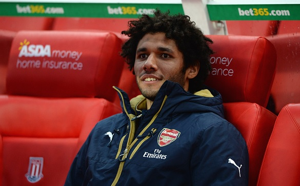 Mohamed Elneny set to return for Arsenal