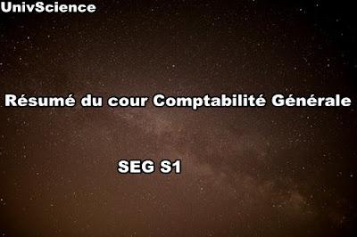 Résumé du cour Comptabilité Générale SEG S1
