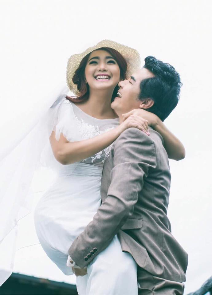 Myanmar Actor Min Oo and Khine Wai Thu Pre Wedding Photos in Innlay