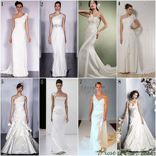 One Strap Wedding Gowns: Wedding Dress Design: One Strap To Wedding Dress