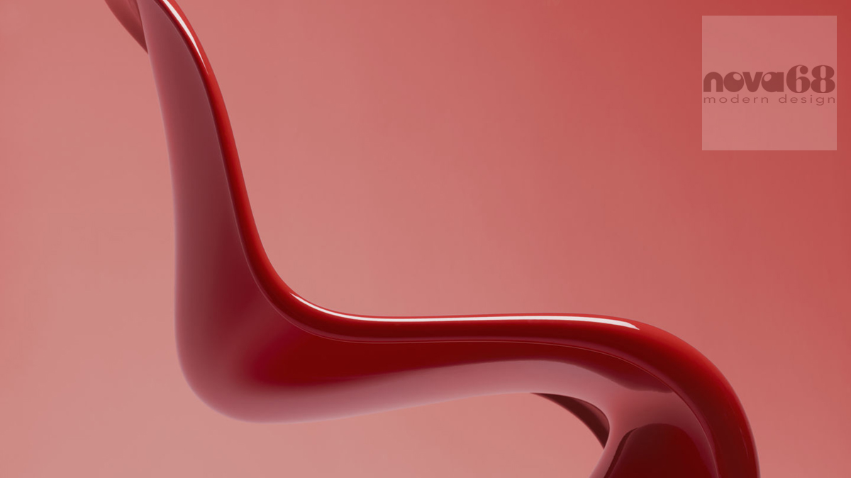classic panton chair modern design by. Black Bedroom Furniture Sets. Home Design Ideas