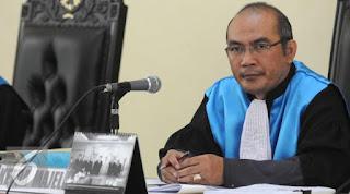 Hatrick Kekalahan Ahok di PTUN foto hakim PTUN sumber :liputan6
