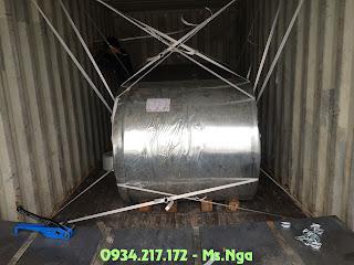 dây đai composite chằng hàng container