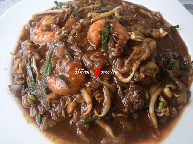 Resepi Char Kuey Teow Azie Kitchen Kue Teow Goreng Udang Azie Kitchen