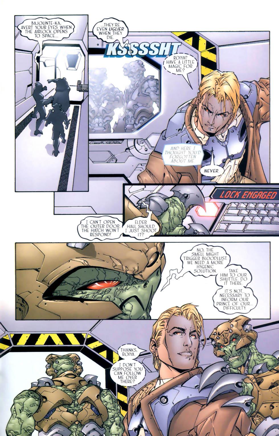 Read online Sigil (2000) comic -  Issue #4 - 22