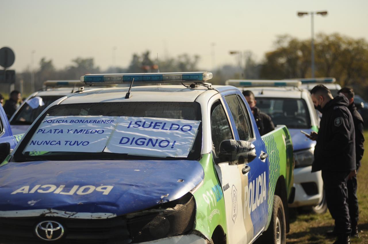 Protesta de Policia Bonaerense
