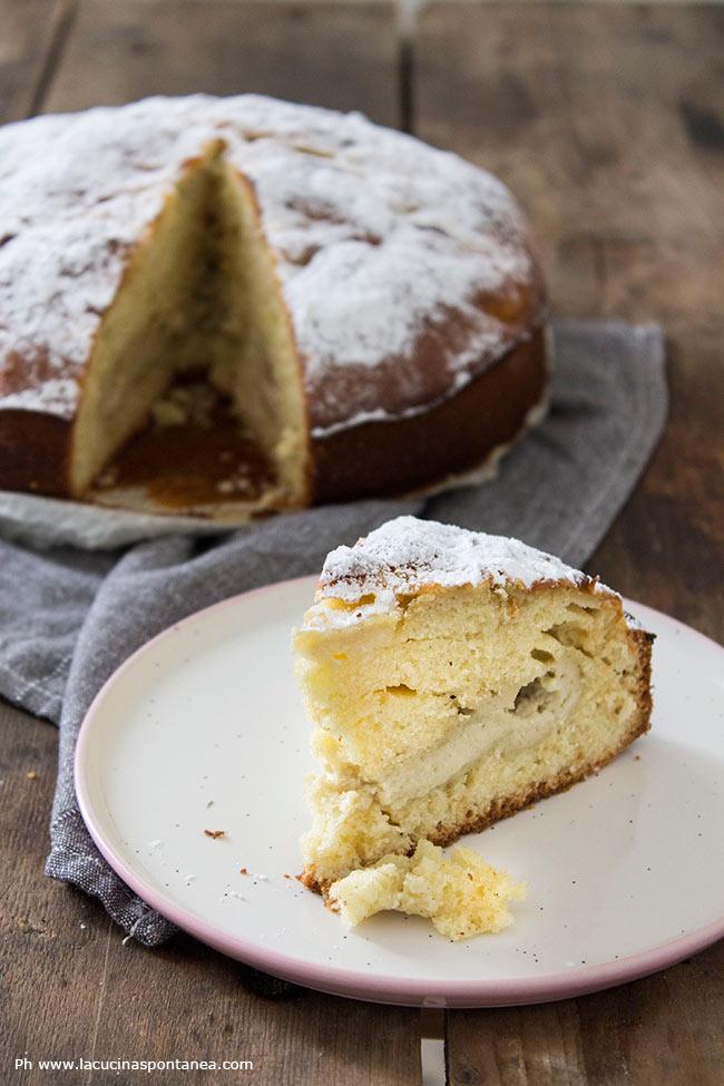 Immagine con torta con crema