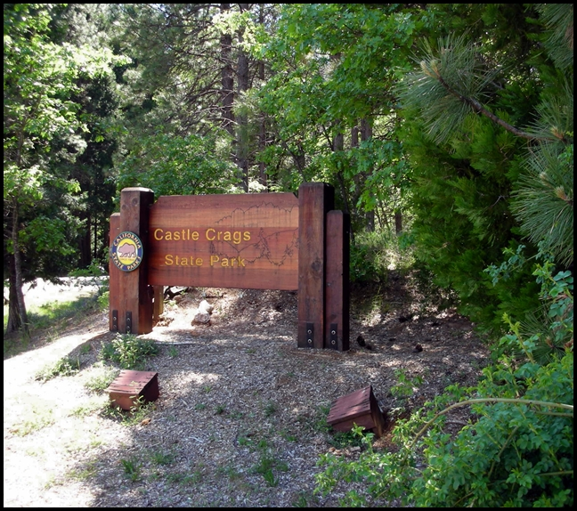 Camping Along I-5: Castle Crags State Park
