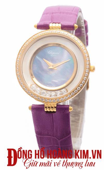 Đồng hồ nữ chopard mới về dây da