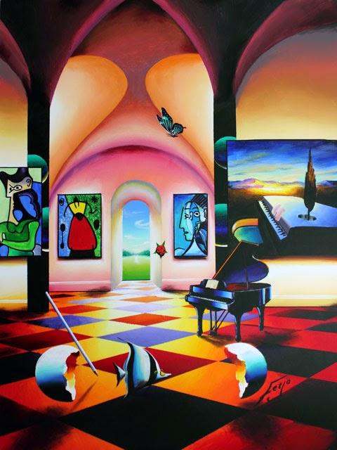 Maravilhas da Beleza - Ferjo e suas pinturas ~ O artista da pintura dentro de outra