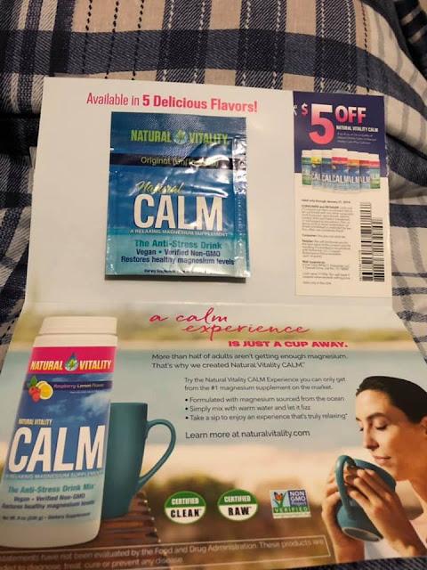 FREE Natural Calm Sample Pack