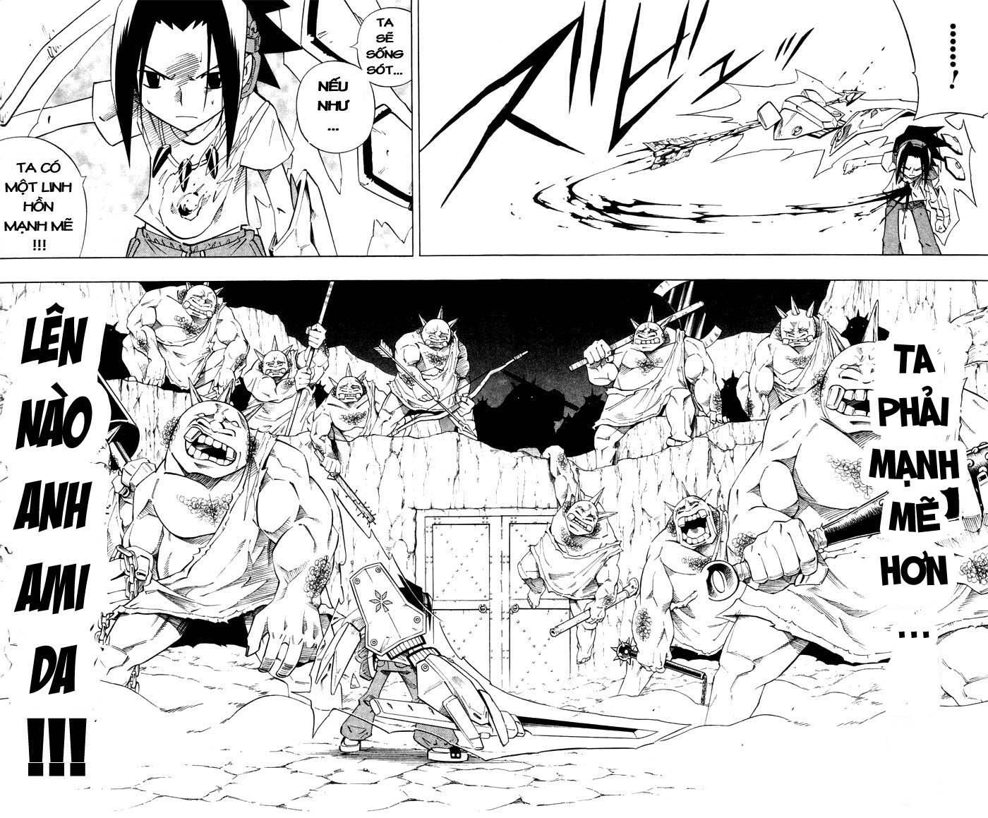 Shaman King [Vua pháp thuật] chap 239 trang 12