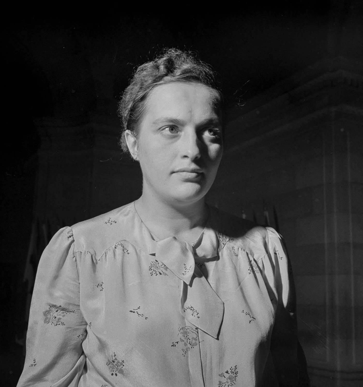 Pavlichenko during her visit to Washington, D.C. 1942.