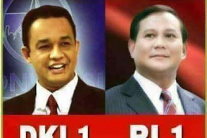 Polling Terbaru Kumparan: Prabowo - Sandi Telak Merajai Raih 62,3 %, Petahana 37,7 %