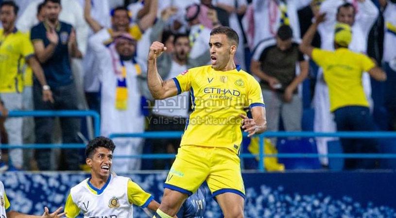 نادي النصر يقلب الطاولة على فريق العين ويتصدر المجموعة في دوري أبطال آسيا