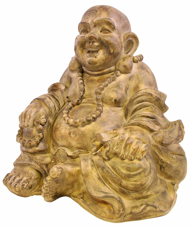 Rustic Large Buddha Garden Statue | Garden Buddha Statues