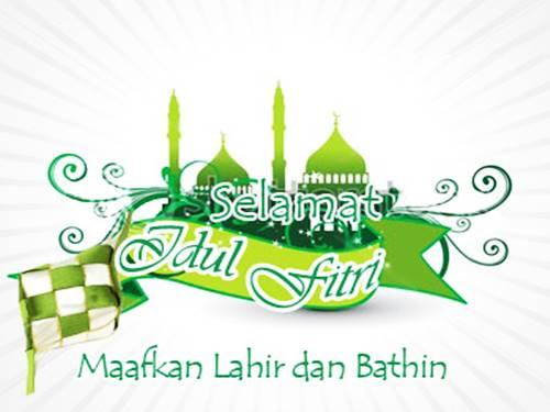 Koleksi Desain Ucapan Selamat Idul Fitri - Kartu Lebaran ...