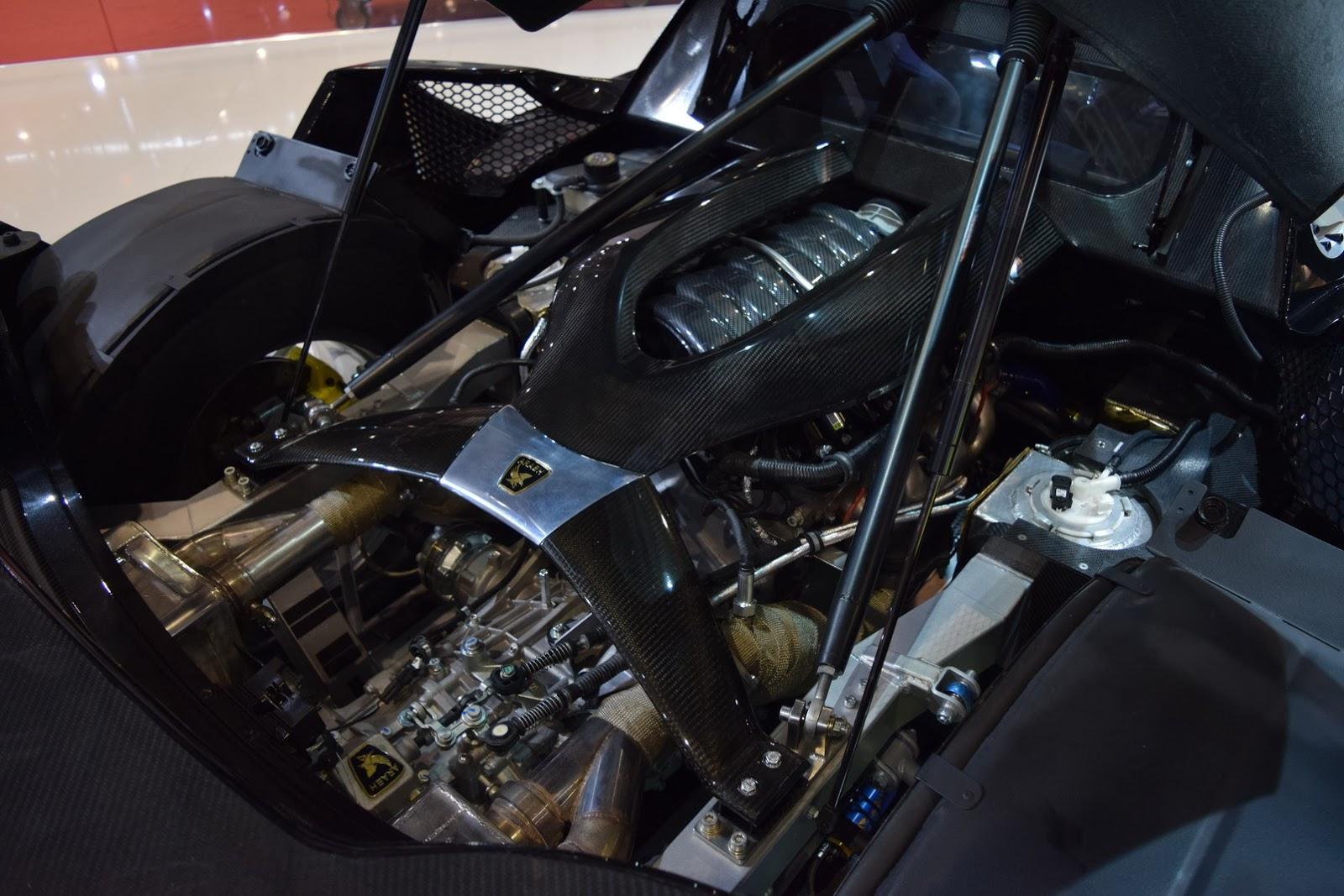 Cái nhìn đầu tiên về siêu xe Arash AF10 Hybrid 2000+ mã lực