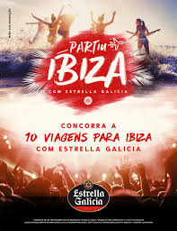 Promoção Partiu Ibiza com Estrella Galicia