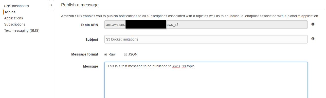 Getting Started with AWS SNS (Simple Notification Service