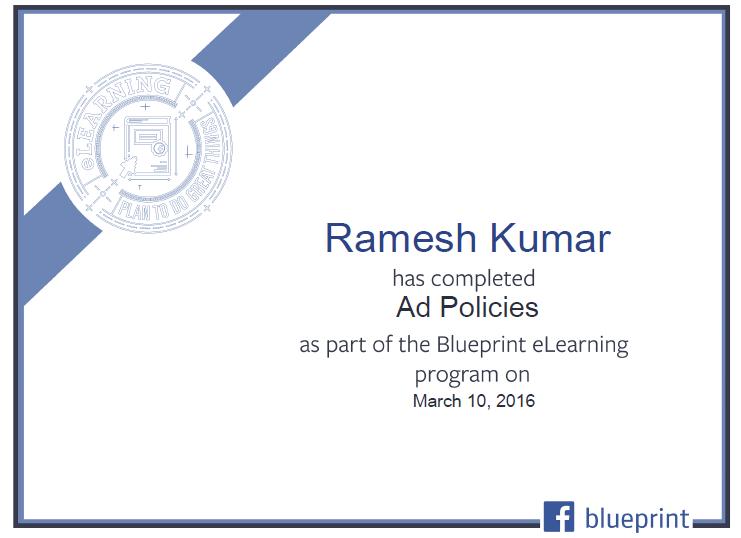Facebook PPC Certificate 3