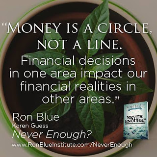 Money is a circle, not a line.