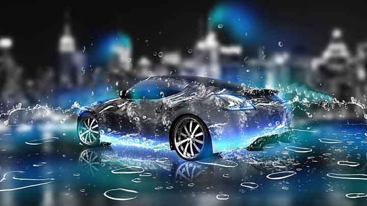 araba 3d resimler