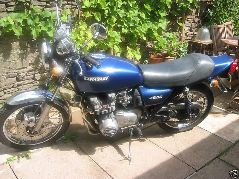 kawasaki: 1977 Kawasaki Z 650