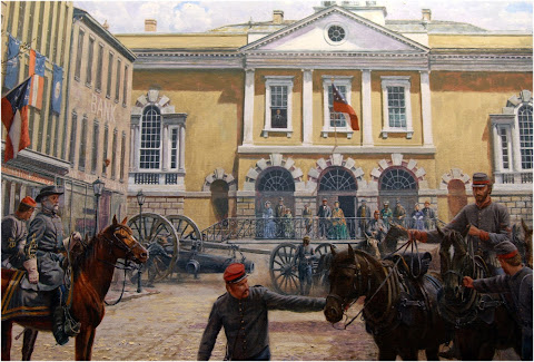 Mort Kunstler, Lee in Charleston