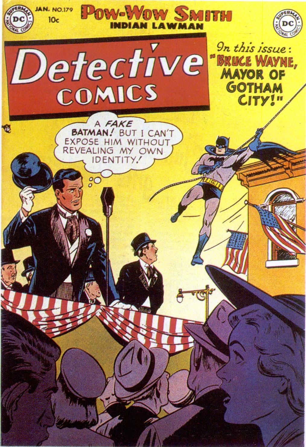 Read online Detective Comics (1937) comic -  Issue #179 - 1