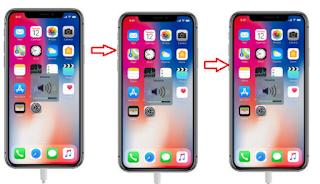طريقة  الدخول في وضع الاسترداد APPLE iPhone X