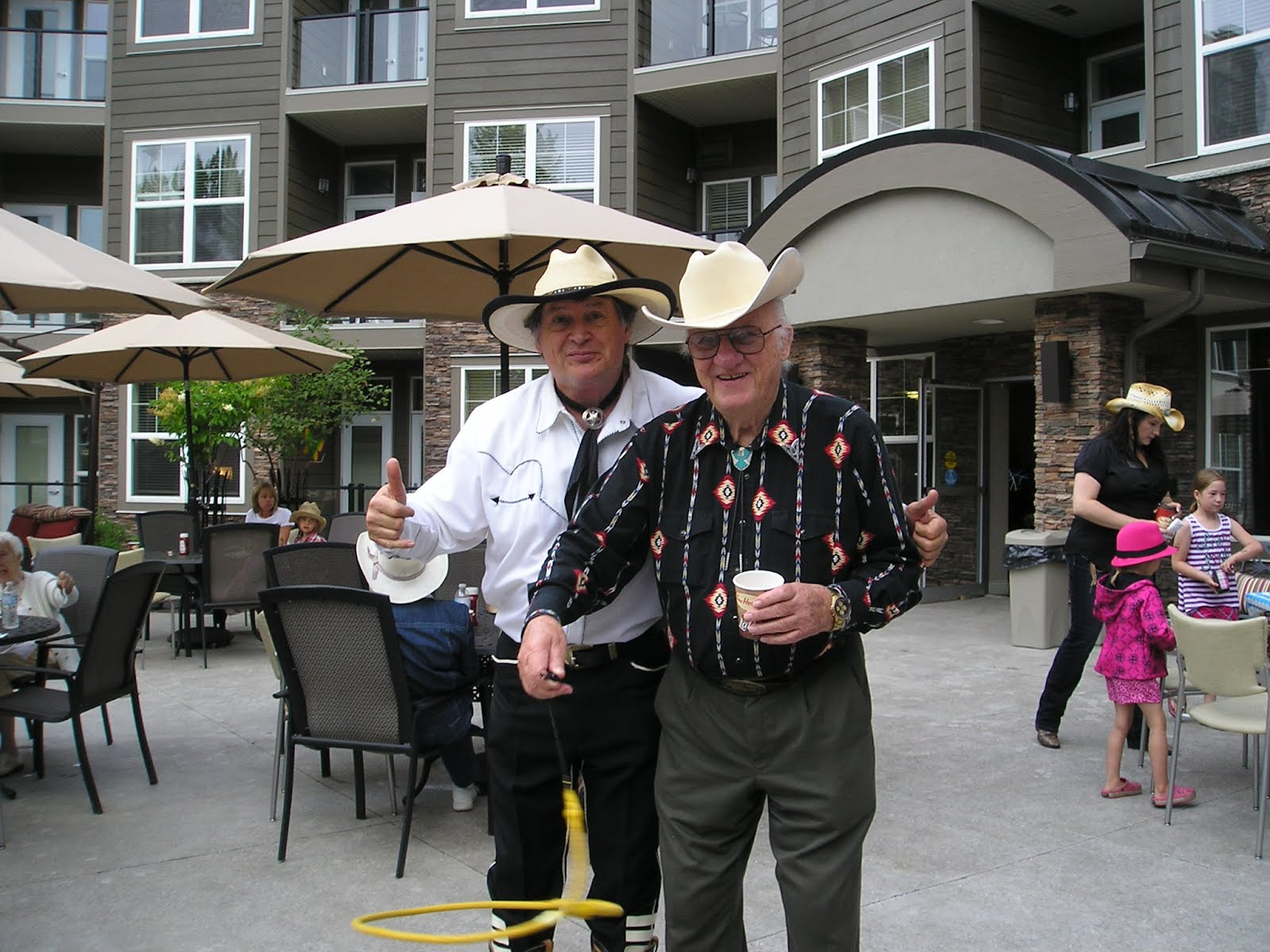 Comedy Cowboy Today S Stampede Breakfast At The Heartland