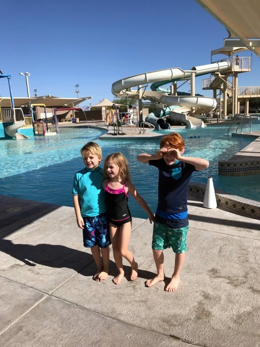 Durango texas pool time with david theo ruby in chandler arizona with spencer jack in fiery for Chandler public swimming pools