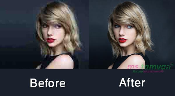Cara Merubah Resolusi Foto Menjadi Lebih Besar