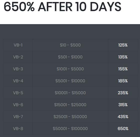 Инвестиционные планы ValleyBit 3