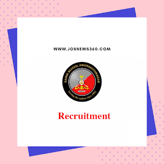 Sainik School Amaravathinagar Recruitment 2019 for Casual Labourers & Staff post