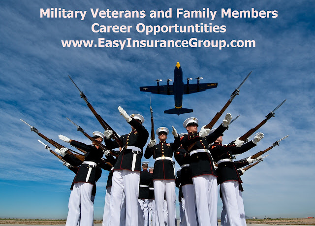 Transitioning Military, Veteran and Family Member Financial Services Careers - EasyInsuranceGroup.com