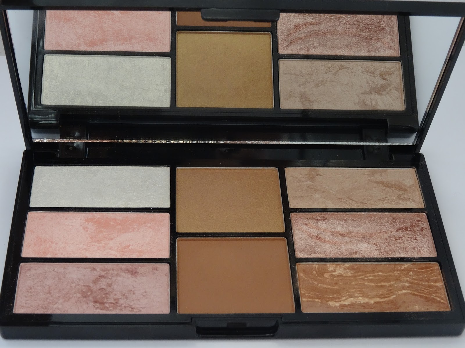 Freedom Makeup PRO Blush & Highlight Palette  Bronze & Baked